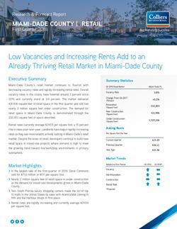 South Florida Retail Market Report - Q1 2018 - thumbnail